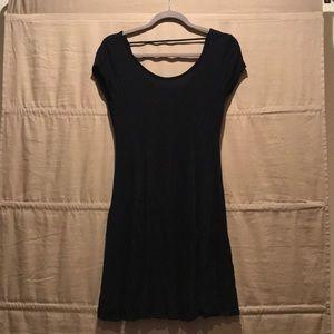 Women's Little Black Cotton Dress ▪️